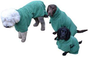 Hunde Bademantel